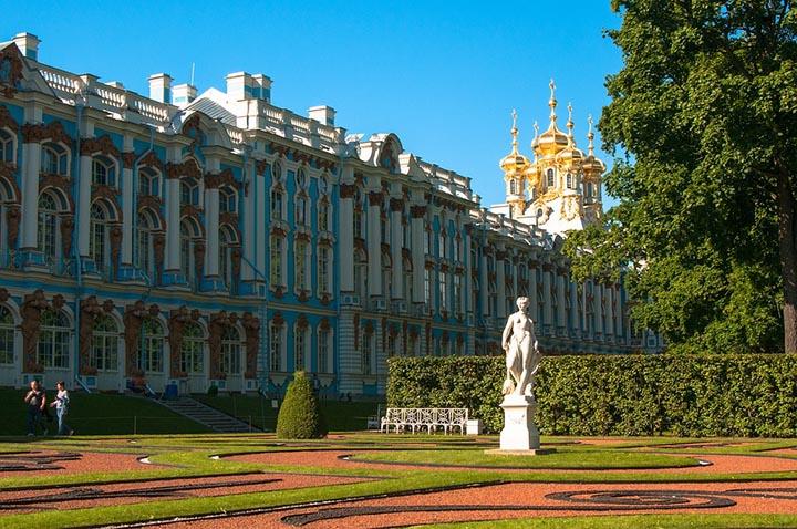 Интересные факты о Екатерининском дворце