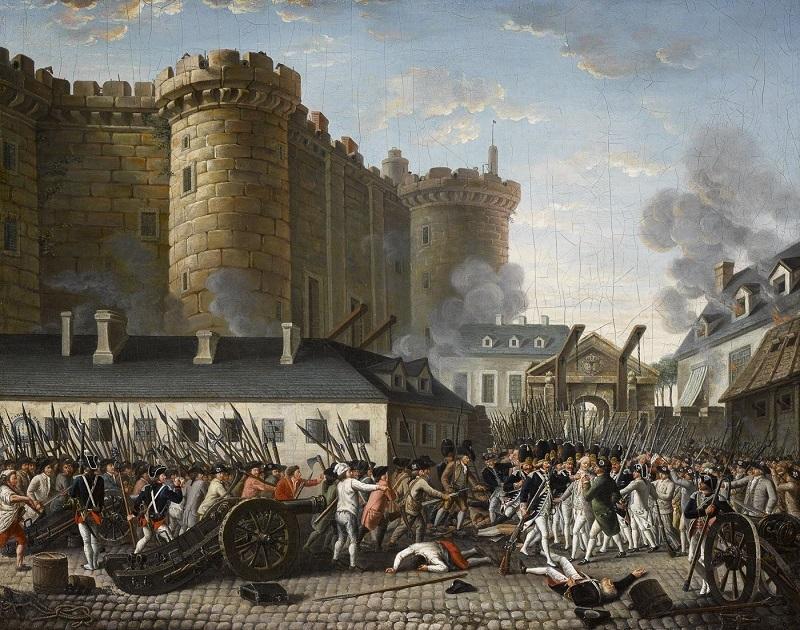 Интересные факты о Французской революции