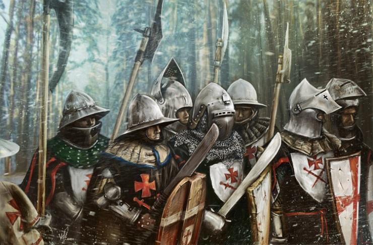 Интересные факты о Ливонском ордене