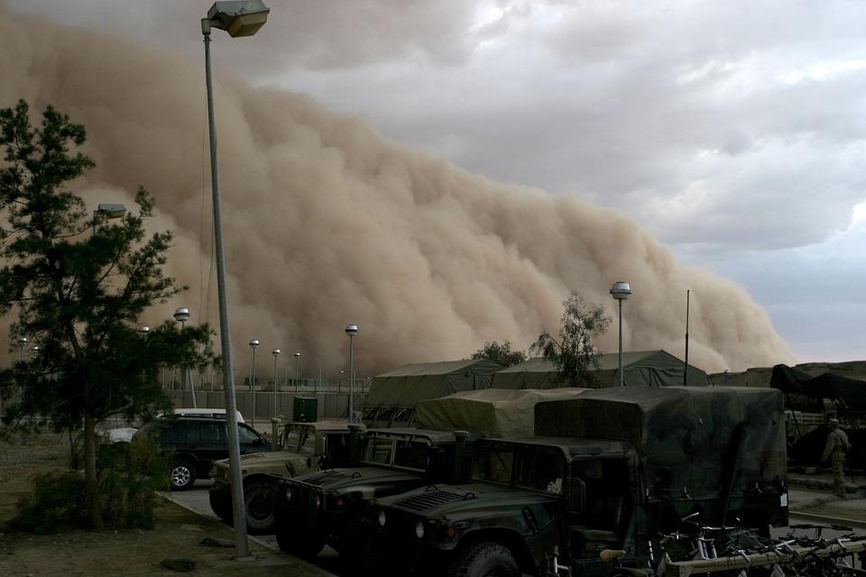 Интересные факты о пыльных бурях