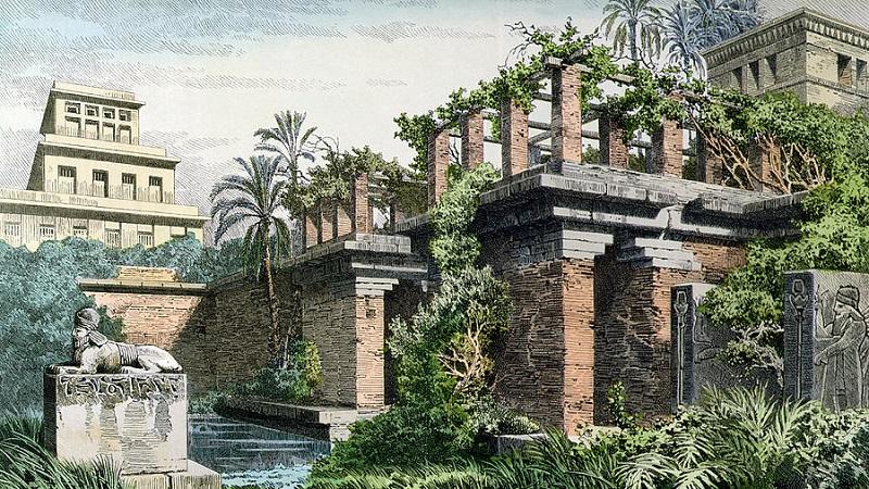 Интересные факты о висячих садах Семирамиды