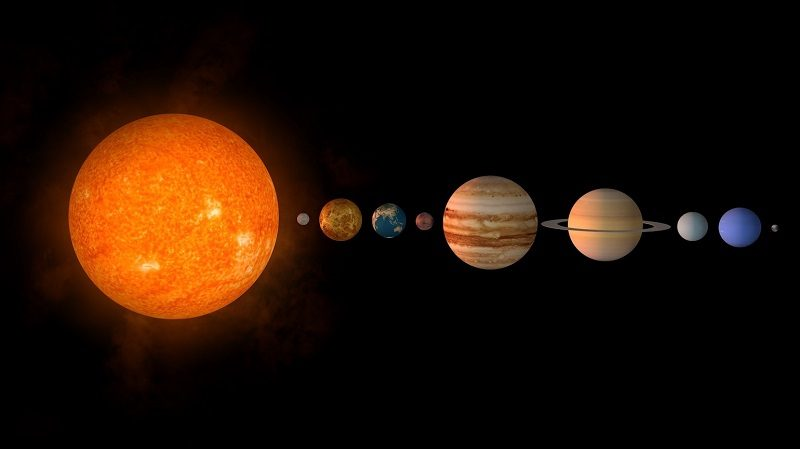 Интересные факты о Солнечной системе
