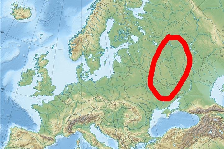 Интересные факты о Среднерусской возвышенности