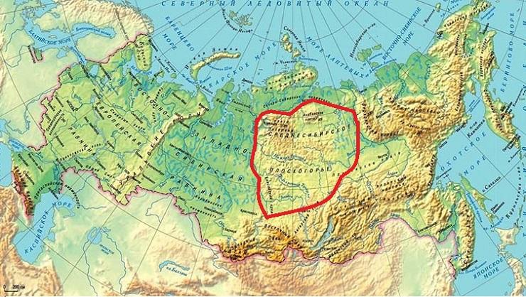 Интересные факты о Среднесибирском плоскогорье