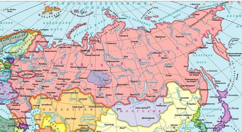 Интересные факты о граничащих с Россией странах