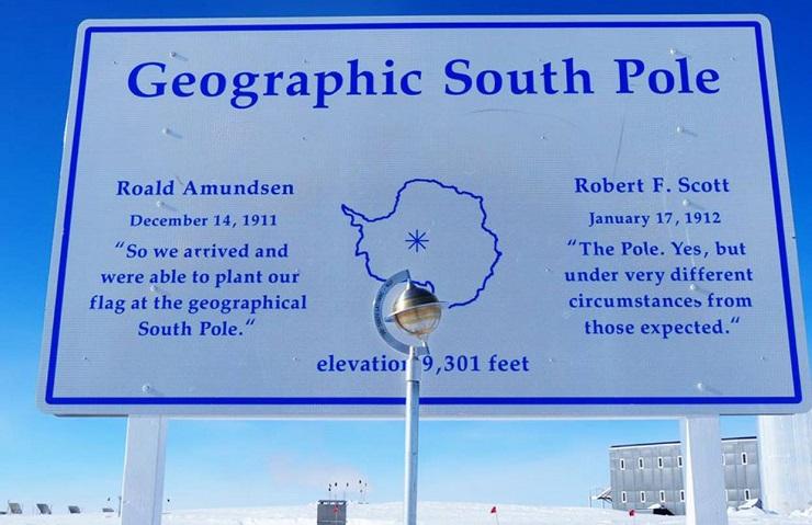 Интересные факты о Южном полюсе