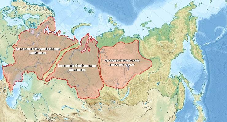 Интересные факты о Западно-Сибирской равнине