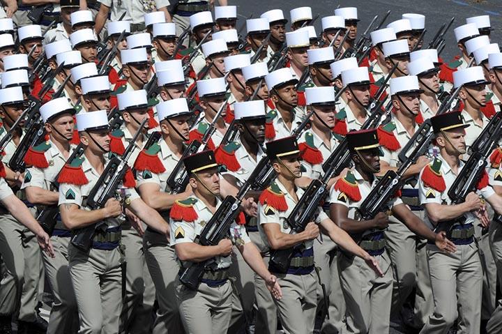 Интересные факты о Французском Иностранном легионе