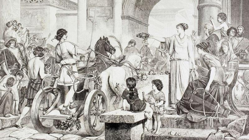 Интересные факты об Олимпийских играх Древней Греции