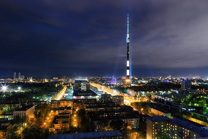 Интересные факты об Останкинской башне